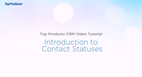 Video Tutorial: Contact Statuses
