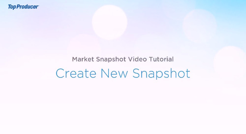 Video Tutorial: Create a Snapshot