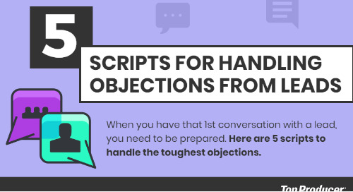 5 scripts to bypass objections & land that 1st meeting