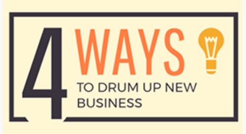 4 simple ways to drum up business & the scripts to do it