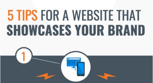 [Infographic] 5 Tips for a Website That Showcases Your Brand