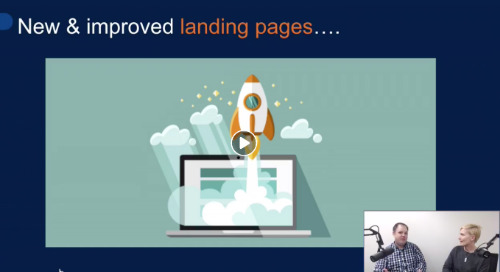 Live: All About Landing Pages