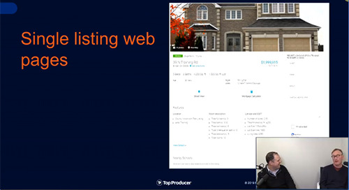 Live: Market your listings with single property landing pages