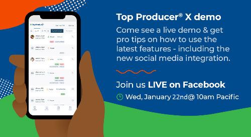 Facebook Live: Top Producer® X demo
