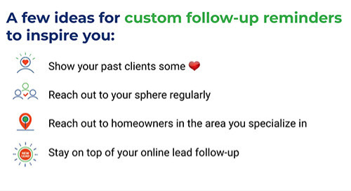 Live: Customize your follow-up in the Top Producer® X CRM