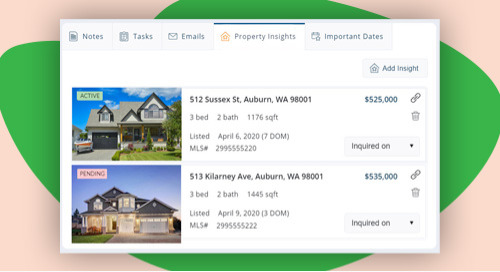 NEW! Tracking the buyer journey with Property Insights