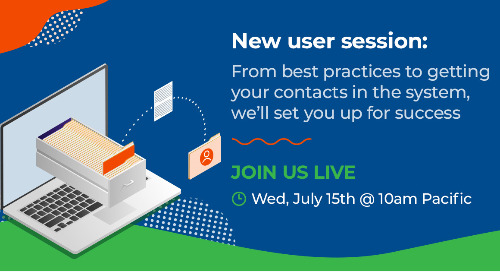 Live: New user session