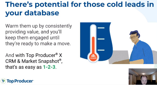 Live: 3 steps to warm up the cold leads in your database