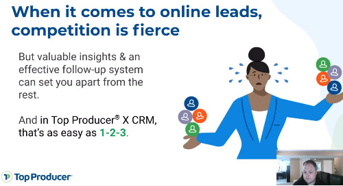 Live: Better lead management with Top Producer® X CRM and FiveStreet