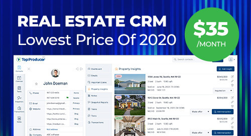 Real Estate CRM Cyber Sale - Top Producer® X