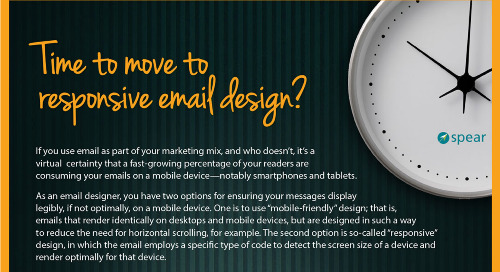 Infographic: Time to Move to Responsive Email Design?