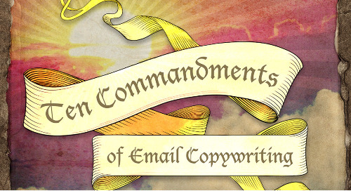 Infographic: 10 Commandments of Email Copywriting