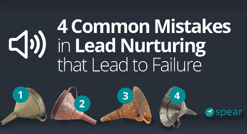 Podcast: 4 Common Mistakes in Lead Nurturing That Lead to Failure