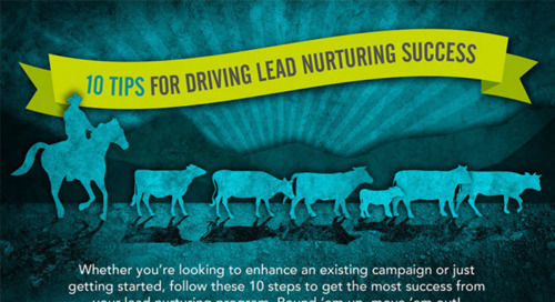 10 Tips for Driving Lead Nurturing Success (Infographic)