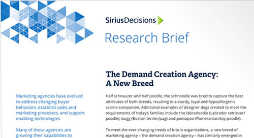 The Demand Creation Agency: A New Breed
