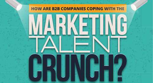 90+ Percent of B2B Companies Report Marketing Talent Crunch (Infographic)
