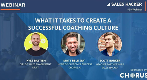 What it Takes to Create a Successful Coaching Culture
