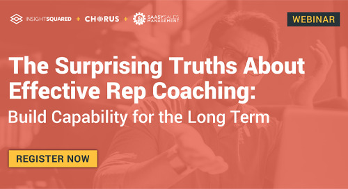 The Surprising Truths About Effective Rep Coaching