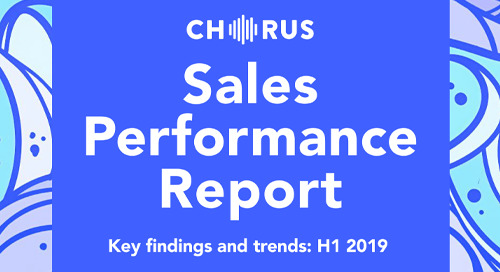 Sales Performance Report: Key Findings and Trends H1 2019