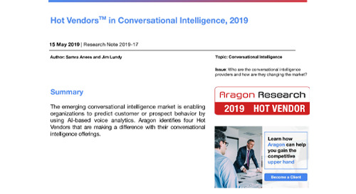 Hot Vendors in Conversational Intelligence, 2019-Chorus