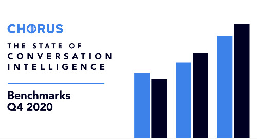 State of Conversation Intelligence | Q4 2020 Sales Benchmarks