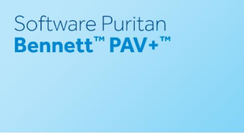 Software Puritan Bennett™ PAV+™