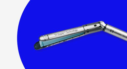 Recarga reforzada Endo GIA™ con Tecnología Tri-Staple™