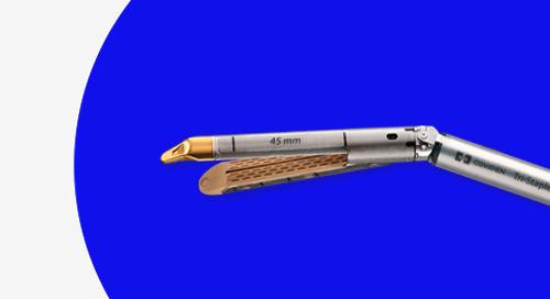 Recarga con Punta Curva Endo GIA™ con Tecnología Tri-Staple™