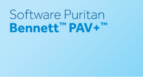 Software Puritan Bennett™ PAV+™