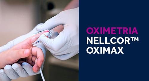 TECNOLOGIA DE OXIMETRIA NELLCOR™ OXIMAX