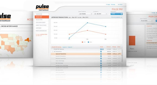 Get Access to Transaction Analytics through the PULSE Debit Dashboard®