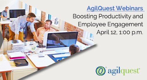 Webinar: Boosting Productivity and Employee Engagement
