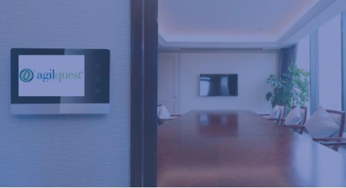 AgilQuest Workplace Resources - Room Kiosk