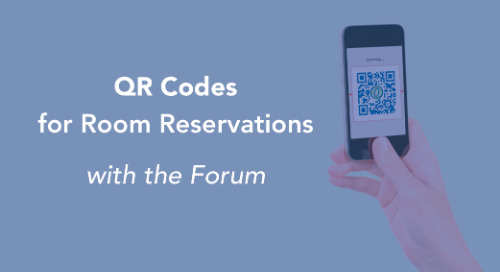 Quick Reservations Using Forum's QR Codes