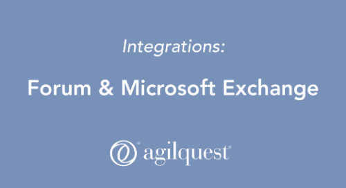 Forum integration with Microsoft Exchange