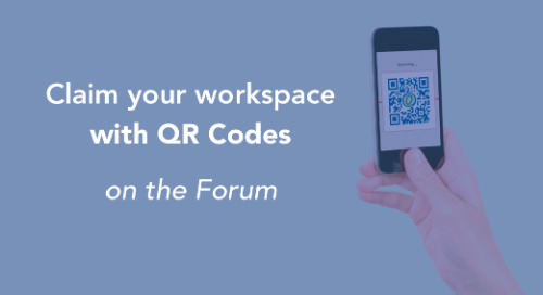 Quickly claim your workspace with QR Codes on the Forum