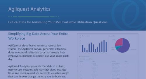 Agilquest - Analytics Datasheet