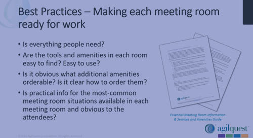 Tips and Tricks: Setting Up Meetings & Conference Rooms(1/2)