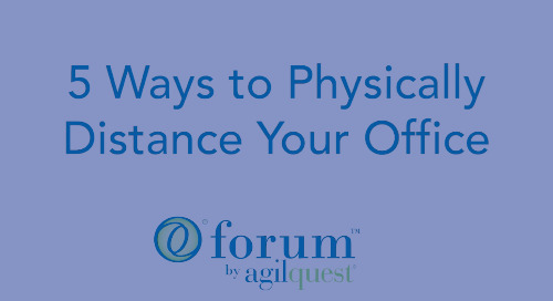 5 Ways to Physically Distance Your Office