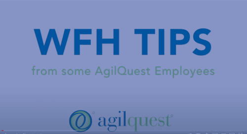 WFH Tips from AgilQuest Employees