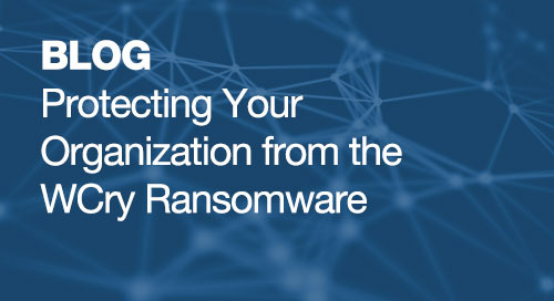 Protecting Your Organization from the WCry Ransomware