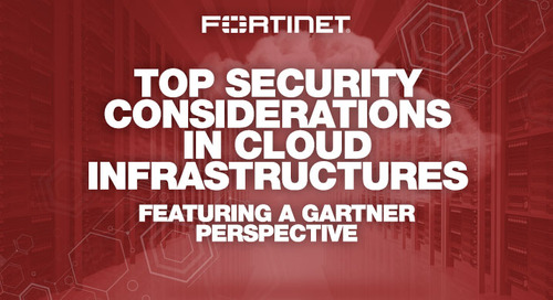 Webinar: Top Security Considerations in Cloud Infrastructures – Featuring a Gartner Perspective