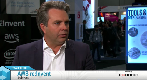 Matt Pley, Fortinet | AWS re:Invent