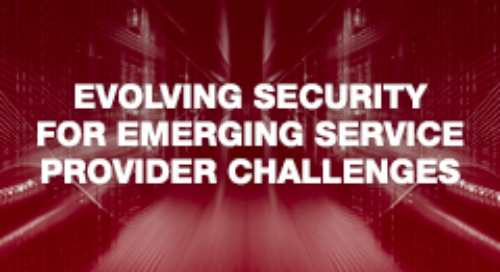 Evolving Security for Emerging Service Provider Challenges