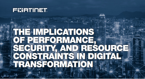 The Implications of Performance, Security, and Resource Constraints in Digital Transformation