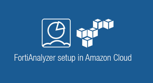 Getting Started with FortiAnalyzer On-Demand in AWS