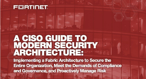 A CISO Guide to Modern Security Architecture