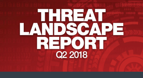 Infographic: Q2 2018 Threat Landscape Report