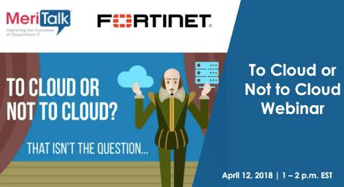 Webinar: To Cloud or Not to Cloud