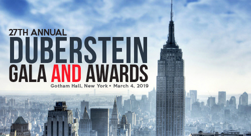 Duberstein Gala and Awards